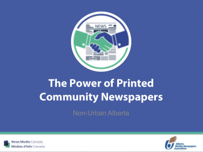 Totum Survey (2018) – Power of the Printed Community Newspapers